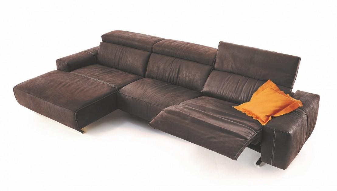 Canapé d'angle relax cubique 4 places EXOVILLE.TM.RELAX