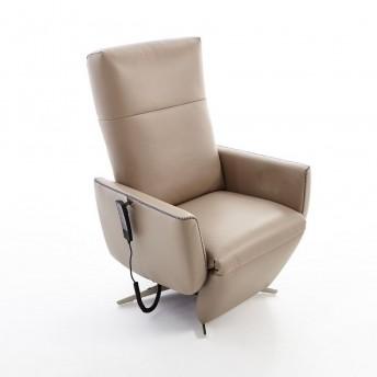 Fauteuil relax releveur STYLAND triple moteurs, cuir ou tissu