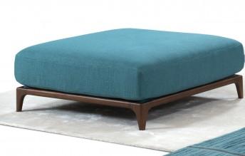 Pouf carré cubique pieds bois ou métal COLLECTION