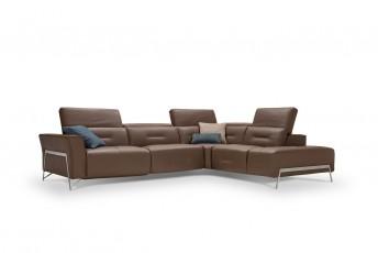 Canapé d'angle cubique 4 places GEORGES