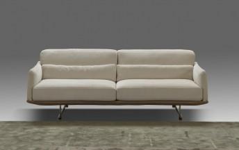 Canapé compact en cuir ou tissu RALPH.LEWIS
