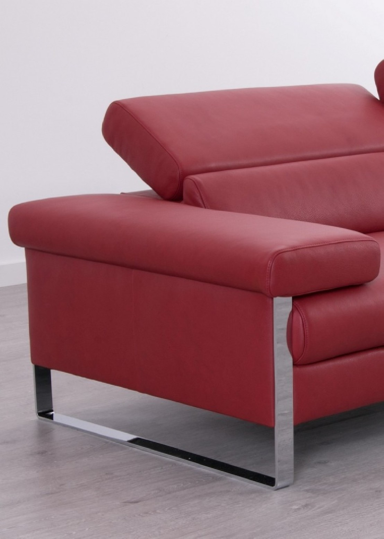 Canap design 2 places assises motoris es en cuir dreamline - Canape 2 places design ...