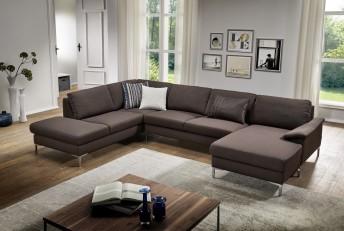 Canapé d'angle U ELIS 5 places