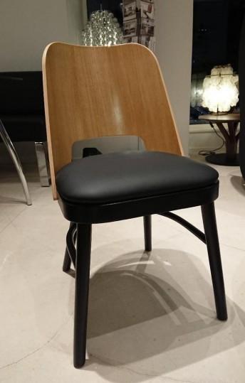 Chaises bois & cuir ROSEHALL par 4