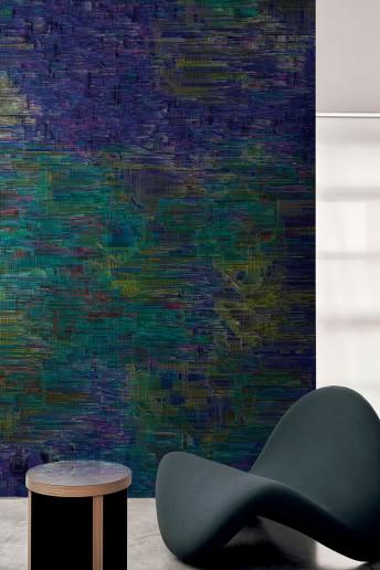 INTERFERENCE papier peint contemporain LONDONART