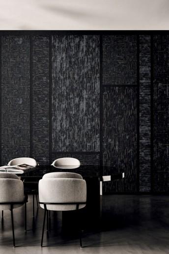 VIBA tapisserie contemporaine texturée LONDON ART