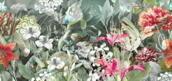 Papier peint exclusif motif floral HAVANA WANDERLUST LONDONART