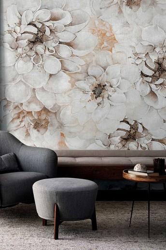 DISTANT MOMENT papier peint floral LONDONART