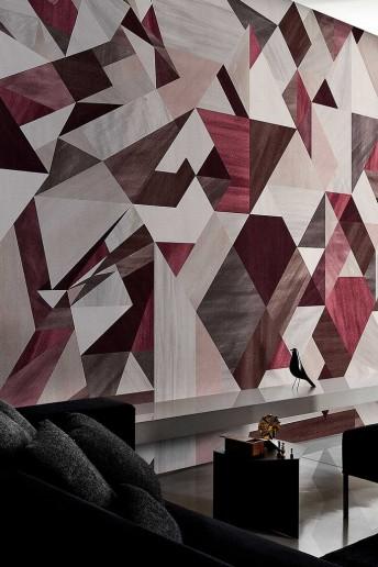 Papier peint géomètrique RHOMBUS LONDONART