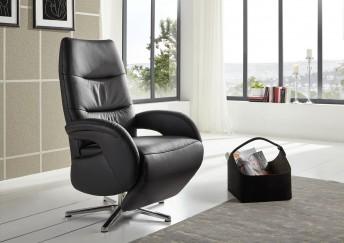 AMI.RELAX, fauteuil design relax manuel, cuir ou tissu