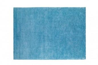 Tapis bleu azur tufté main CALLISTO LONDONART