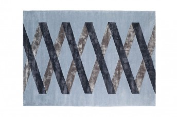 Tapise motifs géométriques moderne UTOPIA LONDONART