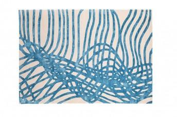 Tapis contemporain en laine de viscose NOUVELLE VAGUE LONDONART