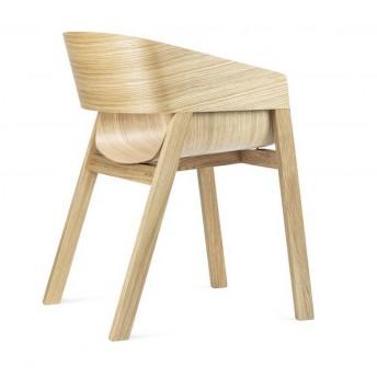 Fauteuil Merano design en chêne, design by Alex Gufler