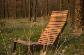 Transat en bois ALVA, chic & design