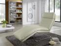 BODYTOUCH, chaise longue flexible en cuir 65 cm