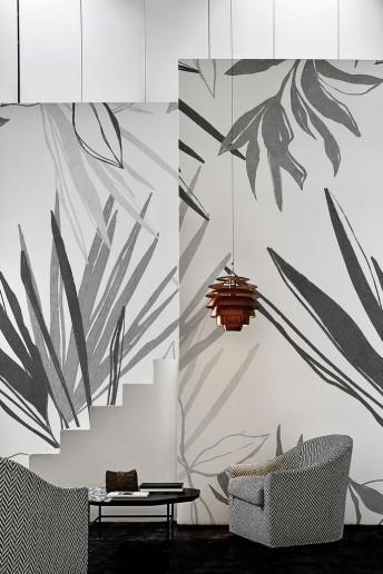 Papier peint lotif végétal pastel FLAWLESS LONDONART