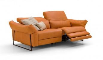 Canapé relax électrique 3 places JAHNY.L.RELAX