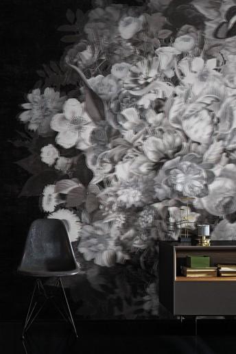 BLOOMING SUN papier peint floral design LONDONART