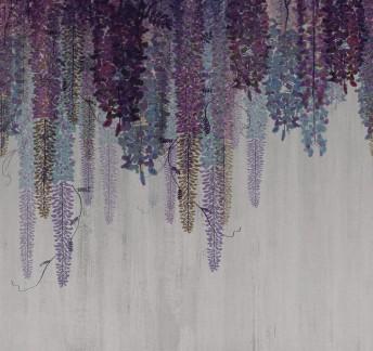 Papier peint PURPLE RAIN LONDONART