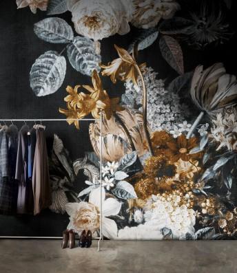 Papier peint floral ROMANTIC STORY LONDONART
