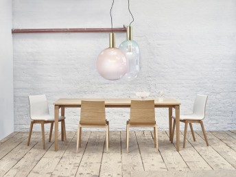 Grande table rectangulaire STOCKHOLM design en bois 90 x 200 cm