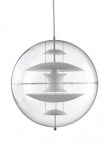 Suspension VP Globe Verpan opale 50 cm diamètre