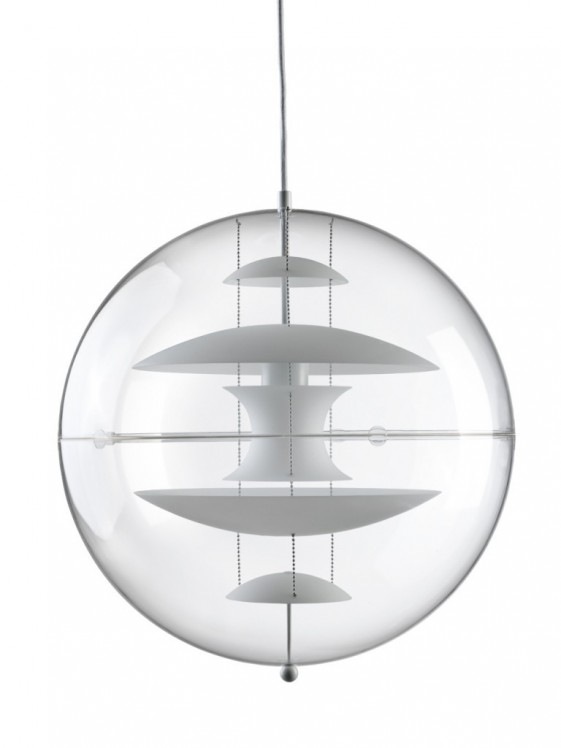 Suspension VP Globe Verpan opale 50 cm diam
