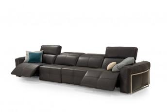 Grand canapé 4 places relax électriques COSY.HOME.RELAX