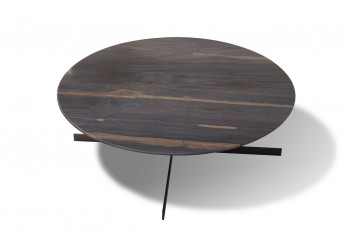 Table ronde basse en marbre BABY.T