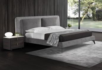 L'ELEGANT, lit design contemporain double tête de lit