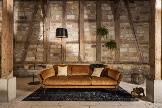 AM.MELVIN méga, grand canapé ultra-confort souple 3 grandes places