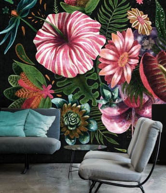 CHLORIS tapisserie florale LONDONART