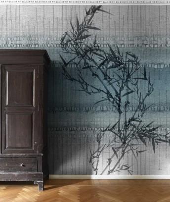 Tapisserie bambous VIRTUAL EMOTION LONDONART