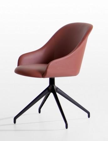 Chaise design pied étoile pivotant LYZ