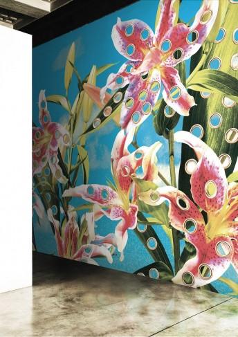 HOLES OF PARADISE papier peint TOILETPAPER LONDONART