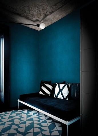 Papier peint uni bleu BLU BALTICO PRIME LONDONART