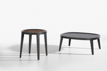 Table basse SPRING en bois de frêne ou marbre ou verre