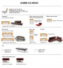 Canapé design AD.SENSO 2 places ultra confort