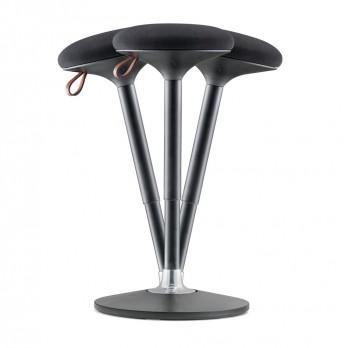 CAÏN, tabouret de travail hauteur d'assise réglable à mouvement dynamique 360 °
