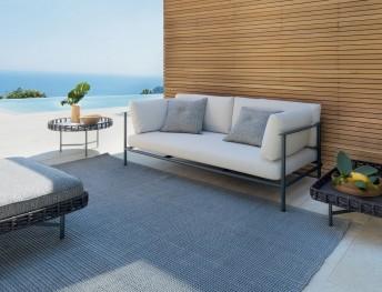 Canapé 2 places d'extérieur ELODIE design