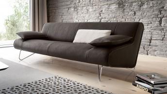 BB.LOO.ULTRA, canapé design en cuir pleine fleur ultra épais