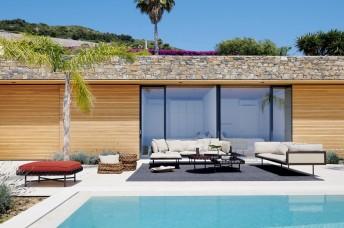 Canapés de jardin & terrasse LOOM d'angle & droit lounge & minimalistes