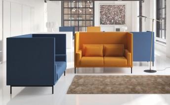 Canapé confident GLAMOROUS.BOX.CT pour lobby, bureau, hall