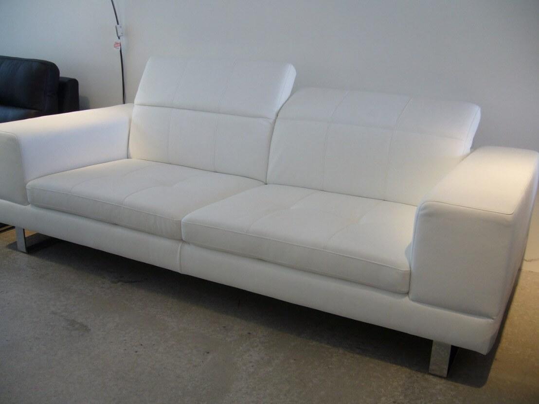 canap design appuis t tes 2 places cuir ou tissu bjbent. Black Bedroom Furniture Sets. Home Design Ideas