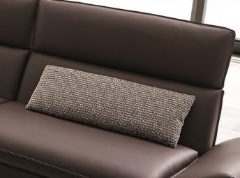 FARROW.TM, coussin cale-reins tissu ou cuir