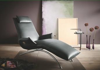 Chaise longue électrique de relaxation massante MADAME.DAY.LOUNGE