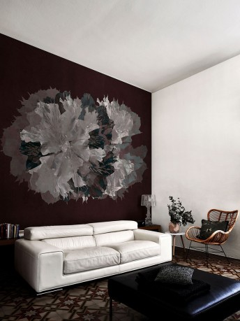 GARNET papier peint floral LONDONART