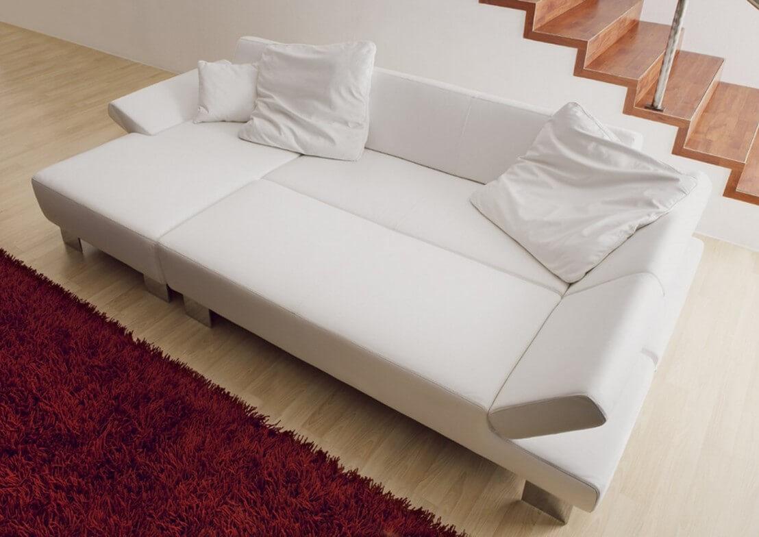 grand coussin en cuir carr longrun 70 x 70 cm. Black Bedroom Furniture Sets. Home Design Ideas