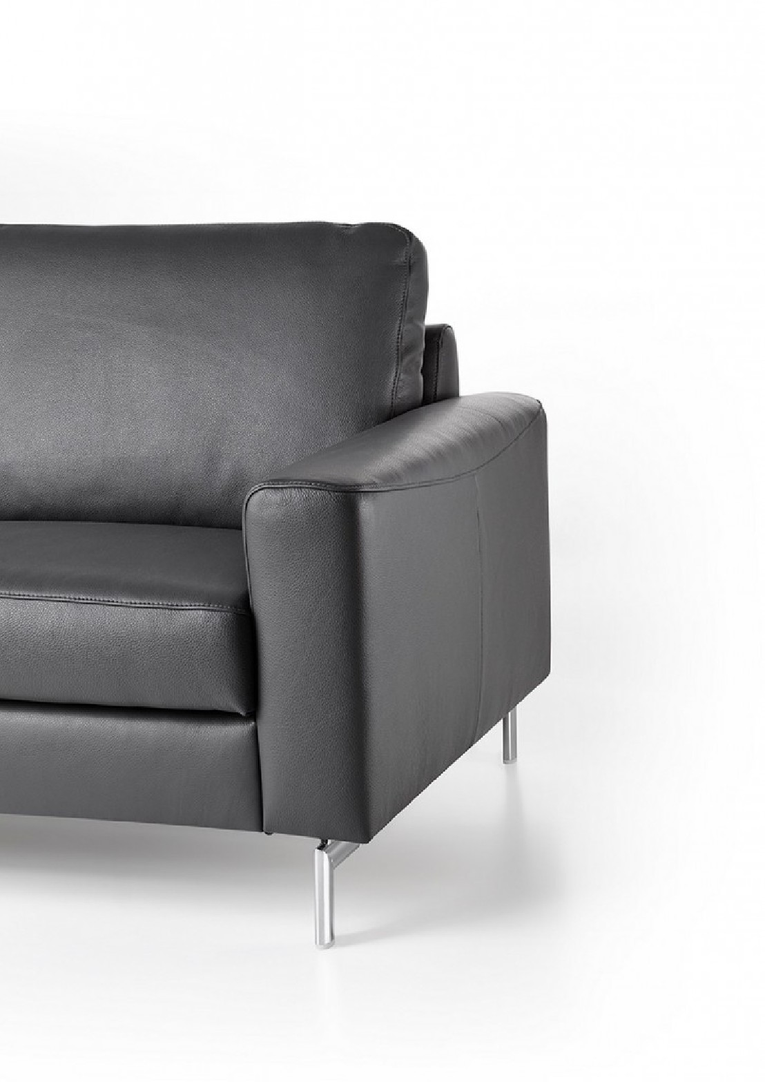Canape Cuir Design 3 Places Cubique Edd En Cuir